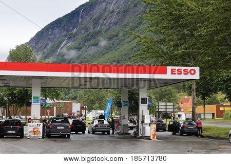 Esso Gas Station