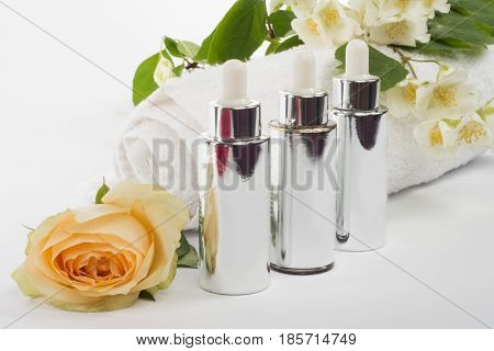 Serum Essence White Drop With Dropper.collagen Hyaluronic Moisture Formula Treatment,protection And