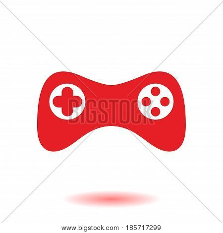 Gamepad icon. Vector. Flat design style. Joypad symbol.