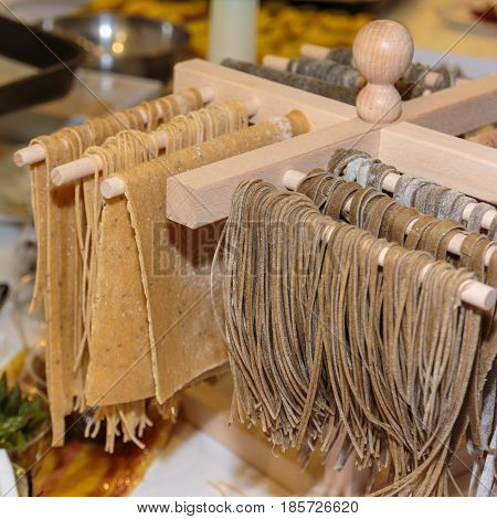 Whole Italian Pasta Preparation And Dry