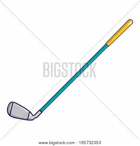 Golf club icon. Cartoon illustration of golf club vector icon for web