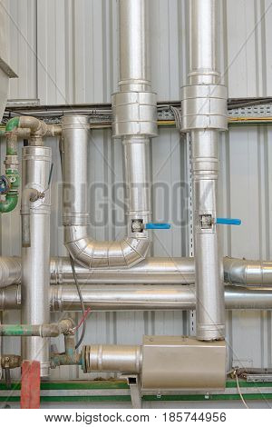 Industrial chrome pipe equipment