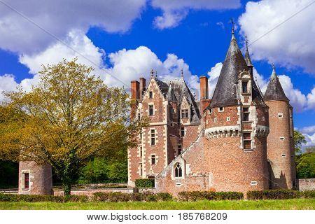 Castle du Moulin, Loire Valley, France