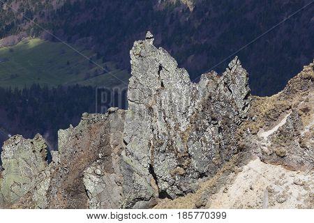 Puy de Sancy Mont Dore Puy-de-Dôme Auvergne-Rhône-Alpes France