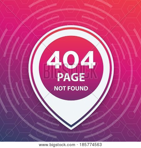 404 page not found, trendy template, eps 10 file, easy to edit
