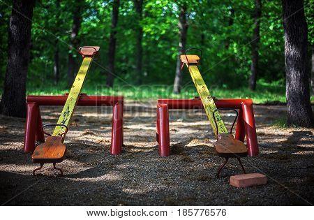 Teeters In City Park