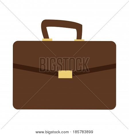 business portfolio bag accesorie documents vector illustration