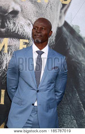 LOS ANGELES - MAY 8:  Djimon Hounsou at the