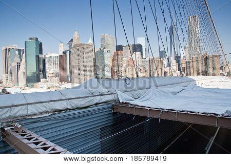 New York, Lower Manhattan Skyline