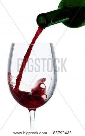 Wine wine bottle pouring drink red wine liquor alcohol