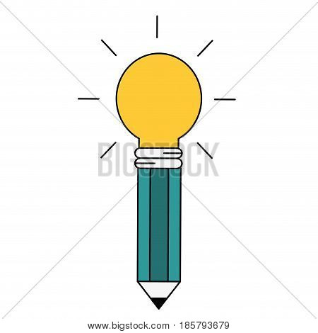 Big idea bulb symbol icon vector illustration graphic design icon vector illustration graphic design