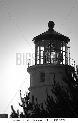 Yaquina Head Lighthouse on the beautiful Central Oregon Coast