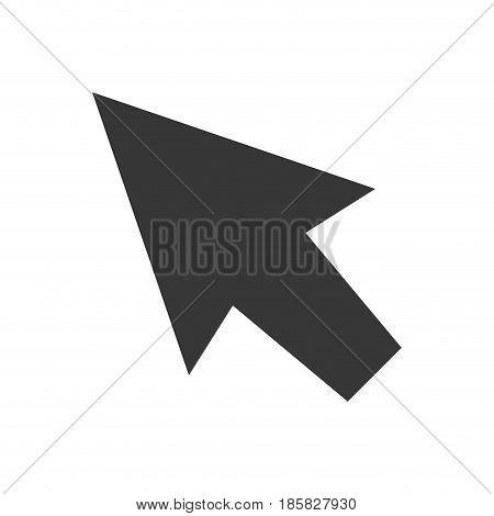 Click cursor symbol icon vector illustration graphic design