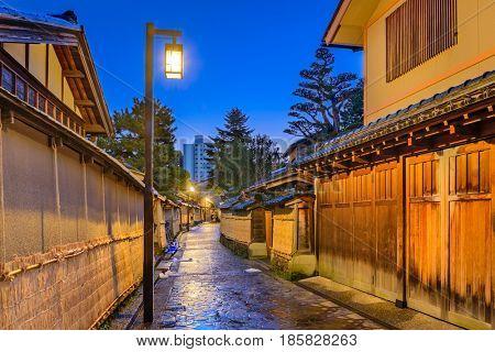 Kanazawa, Japan at the Samurai District.