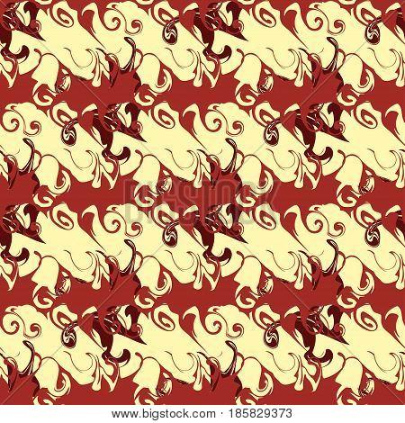Graffiti beautiful seamless pattern vector illustration grunge effect