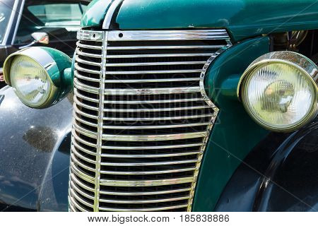 Paaren Im Glien, Germany - May 19: Detail Of The Chevrolet Half Ton Pickup, 1937,