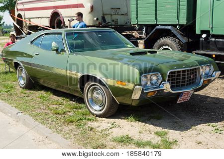 PAAREN IM GLIEN GERMANY - MAY 19: Mid-size car Ford Gran Torino Sport SportsRoof
