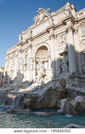 Rome, Trevi Fountain