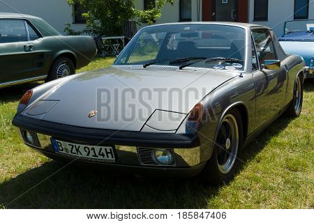 Paaren Im Glien, Germany - May 19: Vw-porsche 914 - A Mid-engined, Targa-topped Two-seat Roadster,