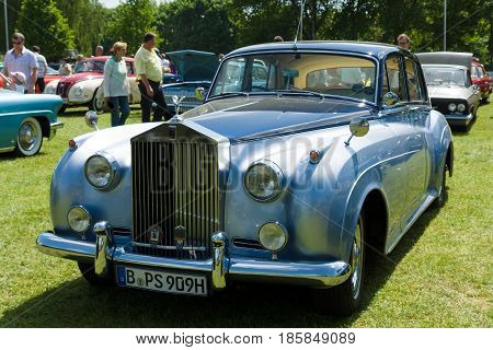 Paaren Im Glien, Germany - May 19: The Rolls-royce Silver Cloud Is An Automobile Which Was Produced