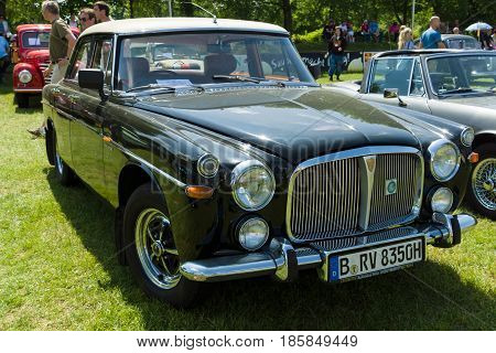 Paaren Im Glien, Germany - May 19: Full-size Car Rover P5B