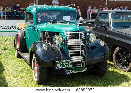 Paaren Im Glien, Germany - May 19: Chevrolet Half Ton Pickup, 1937,