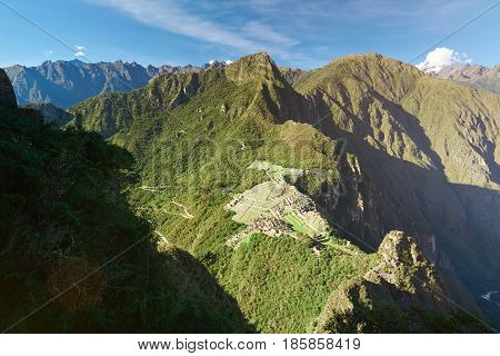 Machu Picchu Landmark
