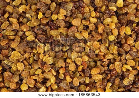 Raisin texture. Raisin background., tasty, natural, top view