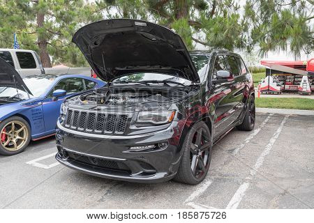Jeep Grand Cherokee On Display