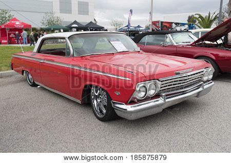 Chevy Impala Ss 1962 On Display