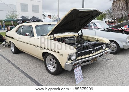 Chevy Nova 1969 On Display