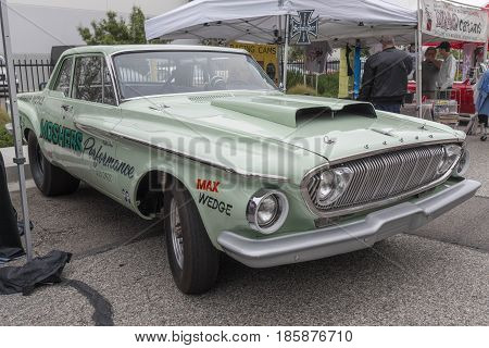 Dodge Dart Drag 1962 On Display