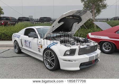 Ford Mustang Fifth Generation On Display