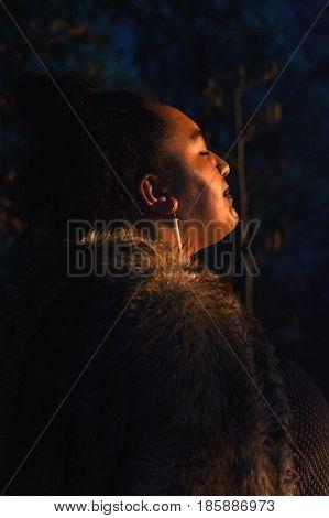 Maori People Woman