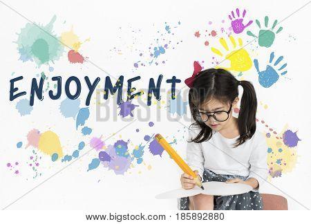 Enjoyment Appreciate Happiness Like Pleasure