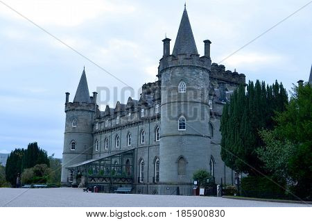 Home of Duke of Argyll head of Clan Campbell.