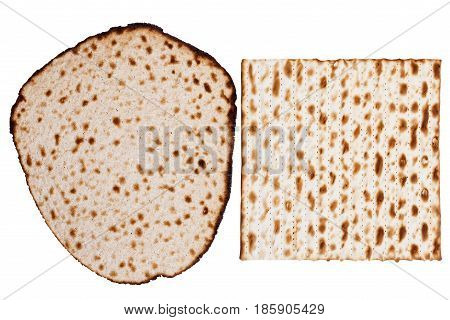 Two Matzah Types