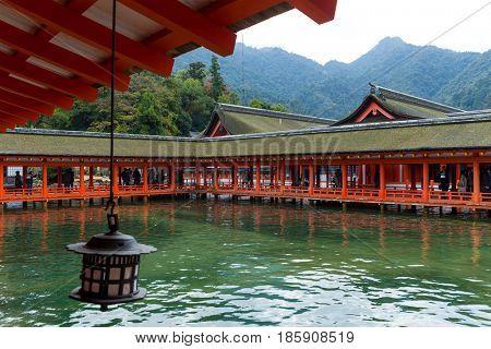 Itsukushima Shrine in Japan