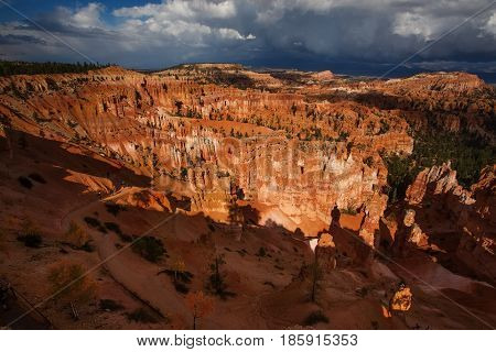 Landscape Of Bryce Canyon National Park, Utah, Usa