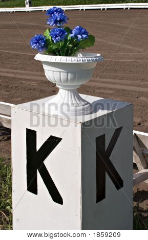 Dressage Alphabet: K