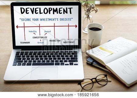 Development Market Expansion Merchandising Icon