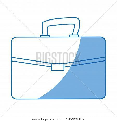 buisness suitcase document work design vector illustration