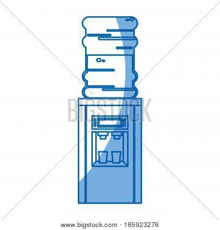 cooler water dispenser machine design vector illustration