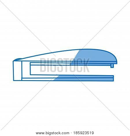 stapler supply office equipment design vector illustration