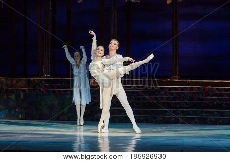 Classical Ballet  Romeo And Juliet.