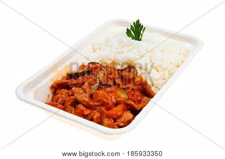 Pork In Sweet And Sour Sauce.