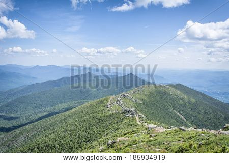 Mount Lafayette in the White Mountain National Forest