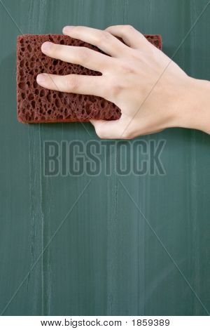 Erasing The Blackboard