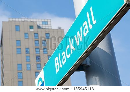 Blackwall Docklands Light Railway Station