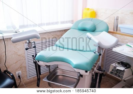 gynecological examination chair